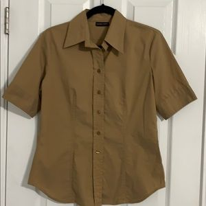 New York & company button down  fitted shirt